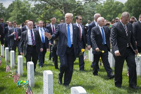 section 60 arlington dvids images president donald j trump and vice