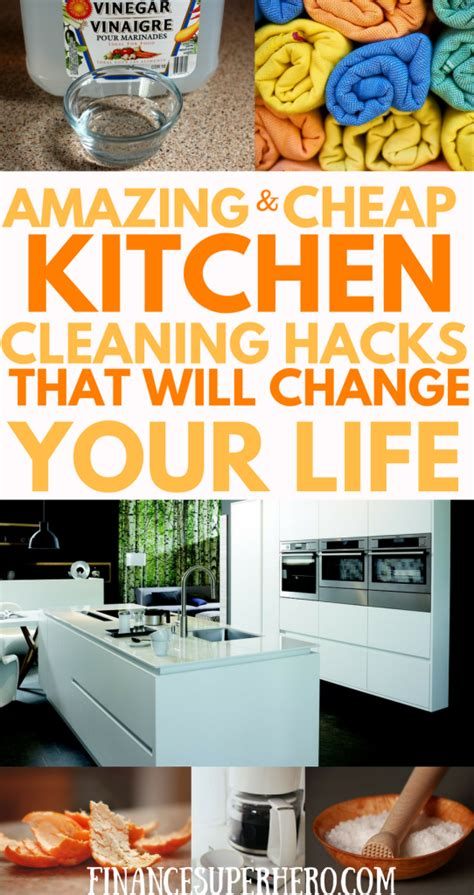 22 kitchen hacks that will change you forever how to clever kitchen cleaning hacks for cheapskates and clean