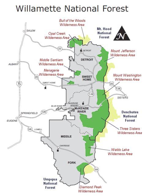 map of oregon forests oregon national forest map swimnova