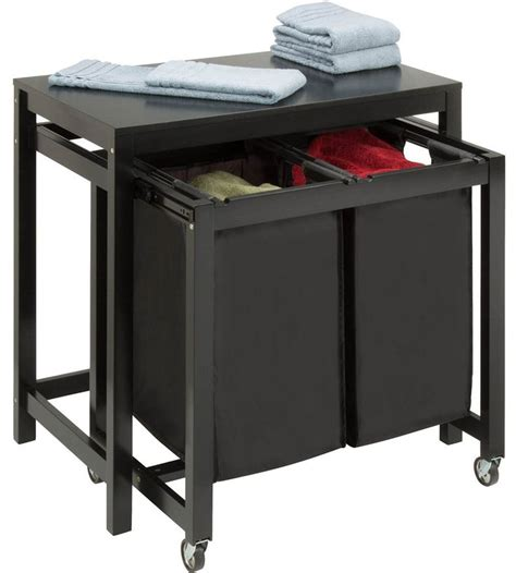 Laundry Sorter With Folding Table 1000 Ideas About Laundry Folding Tables On Folding Tables Laundry And Laundry Rooms