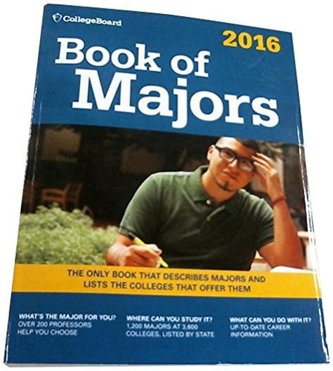 book of majors 2018 college board book of majors booksy33 just launched on in usa marketplace