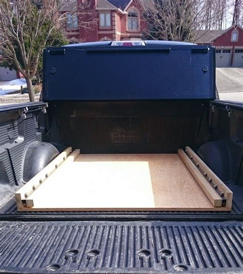 diy truck bed cer diy bed slide ford truck enthusiasts forums