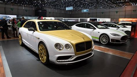 what does bentley mansory does its thing with flashy bentley flying spur