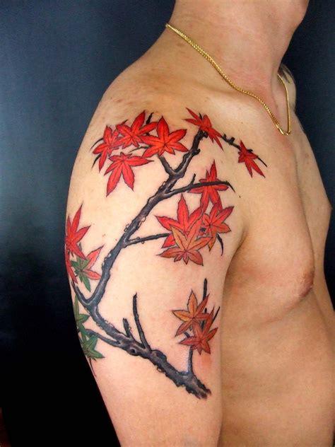 japanese maple tattoo autumn tattoos kyoto maple momiji in autumn from gakkin