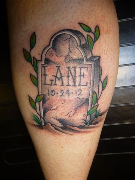 gravestone tattoos tombstone tattoos designs ideas and meaning tattoos for you