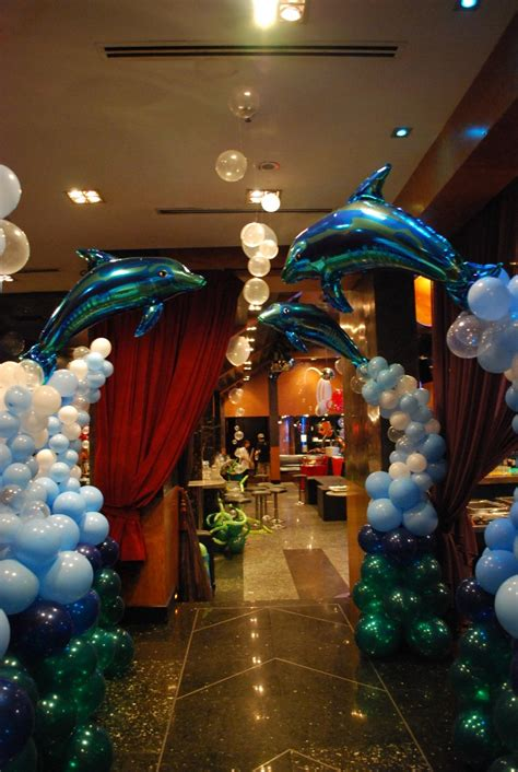 decorations for a themed the sea quinceanera theme my quince