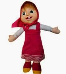Boneka Masha Original Muka Karet Boneka Marsha Murah jual boneka imut murah lucu masha unik asli original