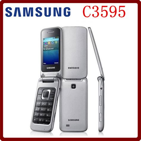 aliexpress mobile phones aliexpress com buy samsung c3595 unlocked 3g wcdma black