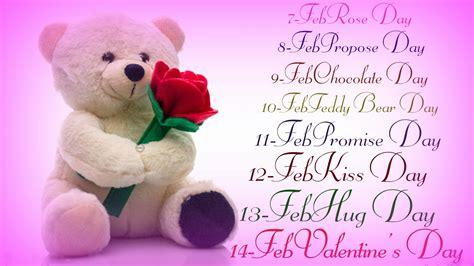 seven days of valentines week list 2018 date sheet days of valentines