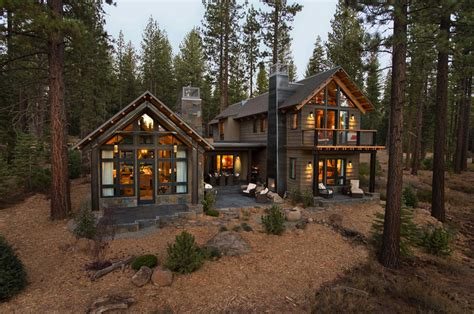Low Cost Interior Design For Homes rustic mountain house with a modern twist in truckee