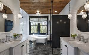 Bathroom Wood Ceiling Ideas Dakota Martha O Hara Interiors
