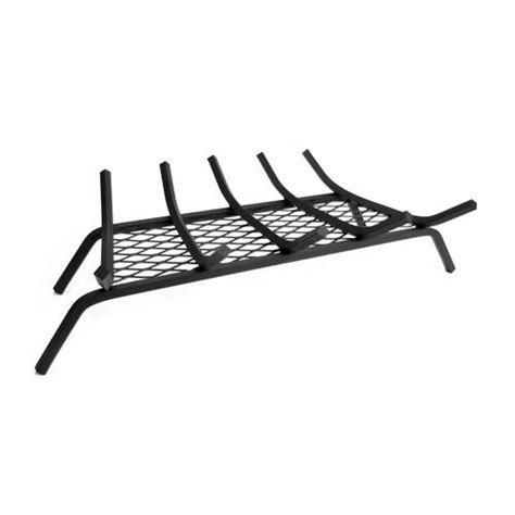 Fireplace Grates Menards 27 inch fireplace grate steel 5 bar with ember retainer