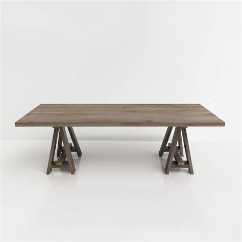 restoration hardware dining table 3d restoration hardware dining table high