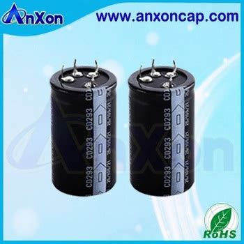 capacitor with name aluminum electrolytic capacitor with 5 pin snap in terminals view aluminum electrolytic