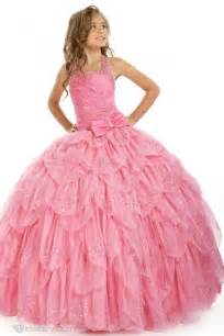 pretty dresses pretty gown halter floor length tiered flower dress flower dresses wedding