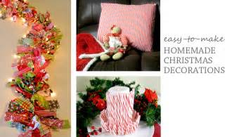 home made decor homemade indoor christmas decorations improvements blog