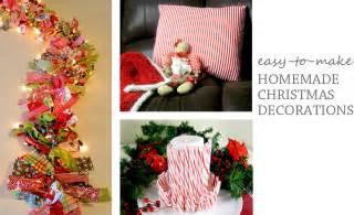 Homemade indoor christmas decorations improvements blog