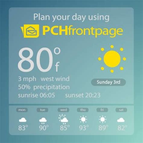 Pch Frontage - plan your day the pch way with pchfrontpage pch blog