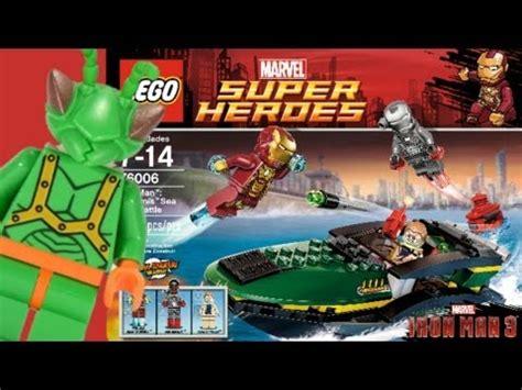 lego iron sea battle lego iron 3 extremis sea battle review 76006