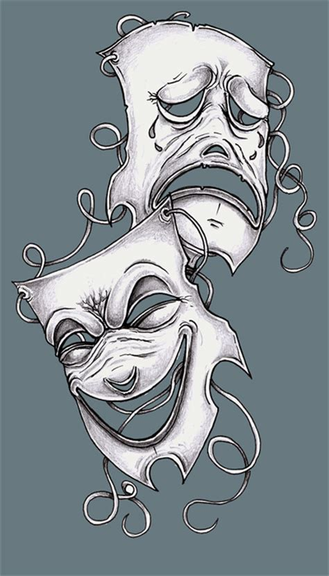 theatre tattoo designs design theater maskstjiggotjurring deviantart