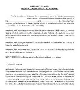Agreement Letter For Consultancy 5 Consulting Contract Templates Free Word Pdf Documents Free Premium Templates