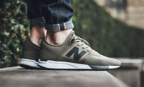 New Balance Nb X J Crew 247 new balance 247 sport quot olive quot in sneakers