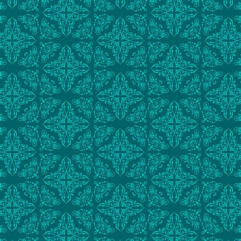 turquoise ornaments for turquoise background with ornaments vector free