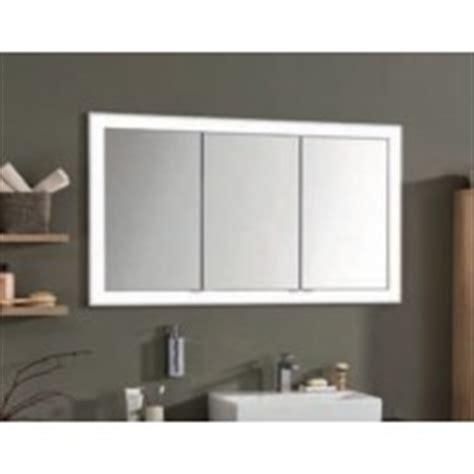spiegelschrank einbau einbau spiegelschrank 152 cm 3 t 252 rig mit led leuchtkranz