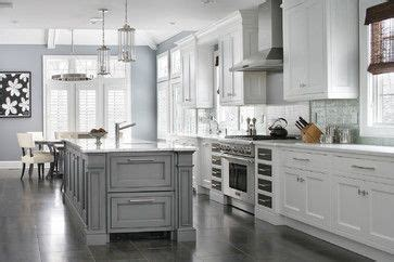 blue gray cabinets transitional kitchen westbrook pinterest the world s catalog of ideas