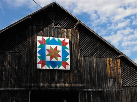 Barn Quilts History by Barn Quilts And The American Quilt Trail August 2010