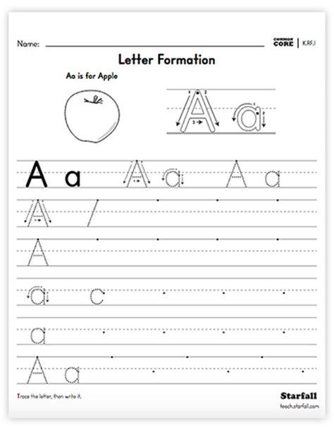 Parent Letter Generator starfall education parent center