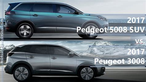 peugeot 5008 trunk peugeot 5008 vs peugeot 3008 suv is the length the only