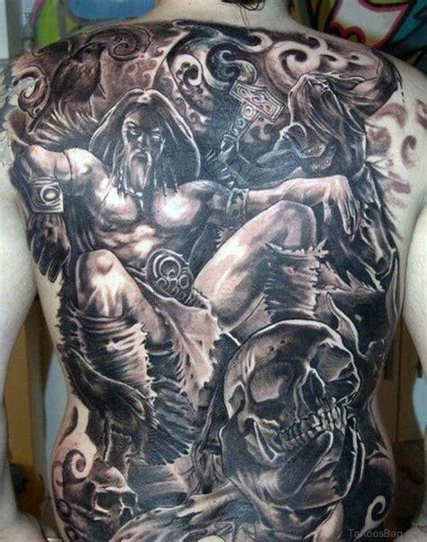 norse tattoos 59 alluring viking tattoos for back