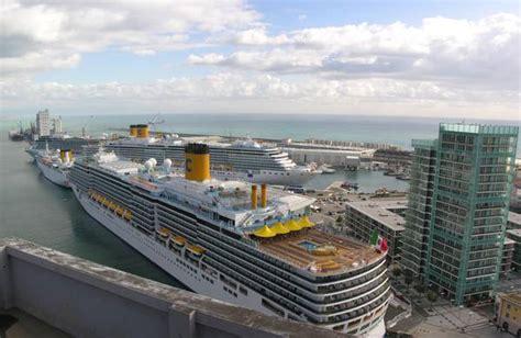 savona porto costa crociere crociere 4 navi costa attraccano a savona crociere e