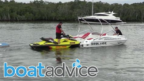 jet ski and boat sealver jet ski boat youtube
