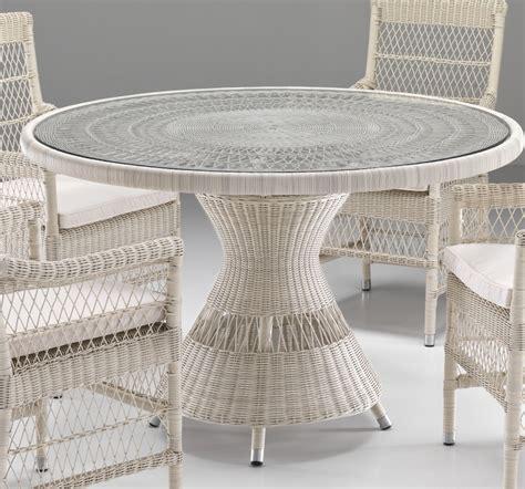 tavoli da giardino in rattan sintetico tavolo rotondo in rattan sintetico