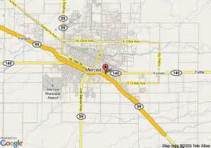 merced california map map of courtyard by marriott merced merced