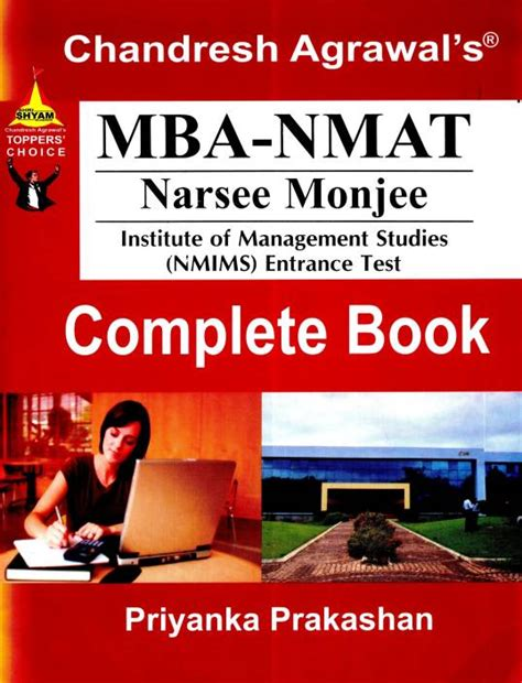 Mba Cet Book By Chandresh Agrawal by Mba Nmat Admission Test A 4 Price In India Buy Mba Nmat