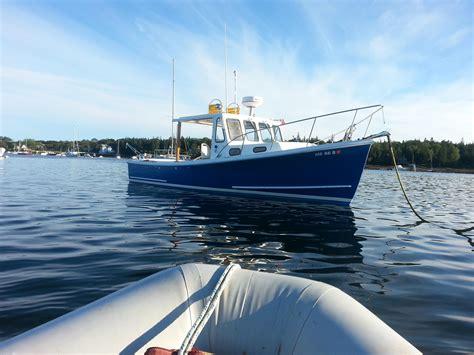 lobster boat cruiser lobster bhm boat brick7 boats