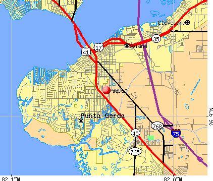 Punta Gorda Florida Map by 33950 Zip Code Punta Gorda Florida Profile Homes