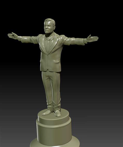 free download cgtrader models leonardo award figurine free 3d model 3d printable obj stl cgtrader
