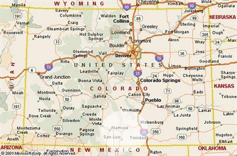 colorado map map of colorado search geography