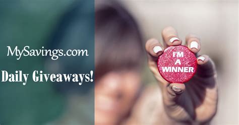 Free Daily Sweepstakes - want to win announcing daily giveaways free