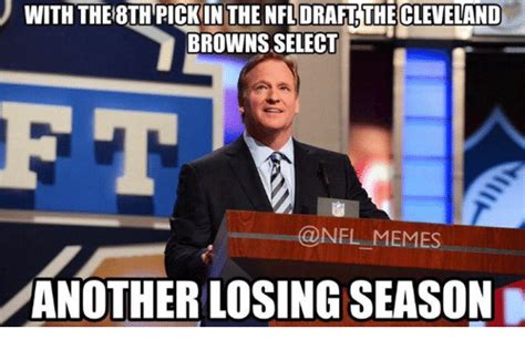 Nfl Draft Memes - 25 best memes about cleveland brown cleveland browns