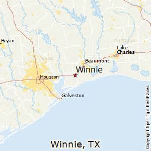 map of winnie best places to live in winnie