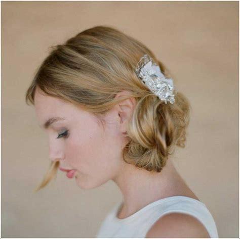 Kurze Haare Hochzeitsfrisur by Hochzeitsfrisuren Kurze Haare Haarschmuck Hochzeit