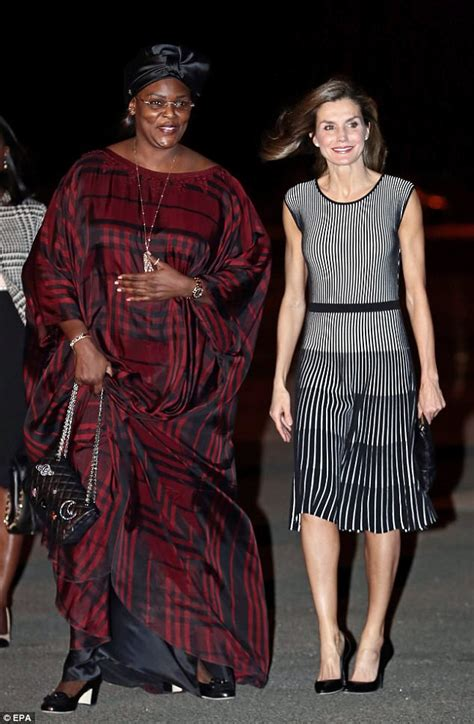 tattoo queen west dress code queen letizia meets senegalese first lady on working visit