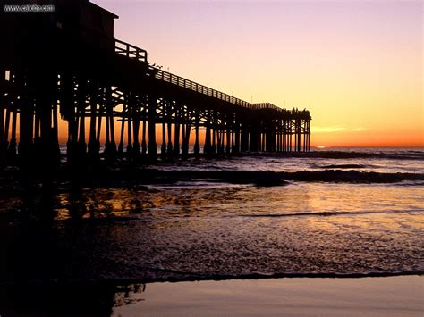 pier in san diego known places crystal pier san diego california picture