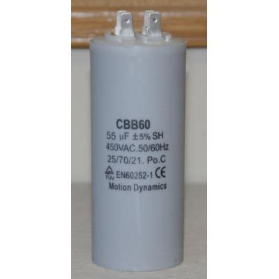 capacitor dielectric dynamics 55 181 f 500v ac start run capacitor cbb60