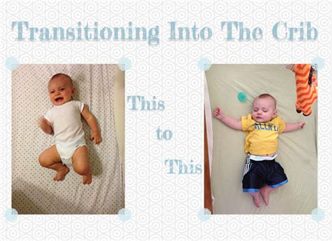 how to transition your baby to the crib ali damron